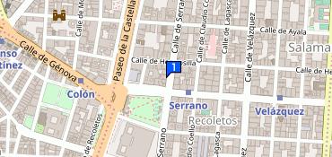 Frontera Dar escala  Nike Store Serrano, 19, Madrid, teléfono +34 917 37 75 35