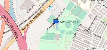 Polideportivo Santo Domingo Alcorcón Av De Esteban