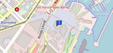 Barcelona Bosque Urbano Parc Del Forum S N Barcelona Telefono 34 931 17 34 26
